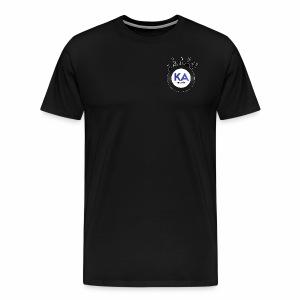 Official KAM Logo (Outlined) - Men's Premium T-Shirt