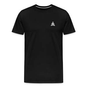 white logo transparent background - Men's Premium T-Shirt