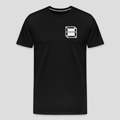 Squared Apparel White Logo - Men's Premium T-Shirt