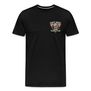 Drunks Logo - Men's Premium T-Shirt