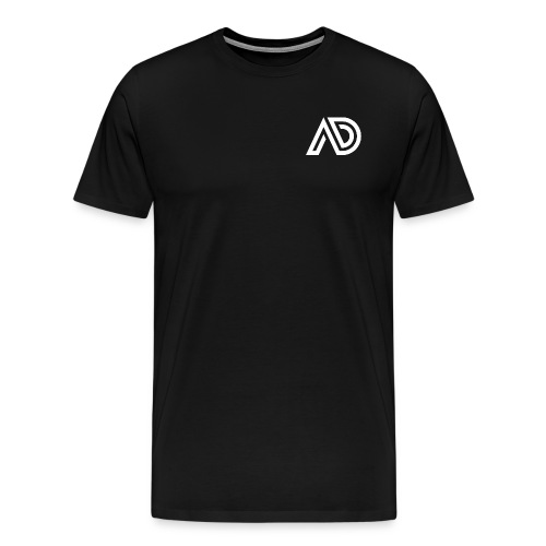 Basic White Logo - Men's Premium T-Shirt