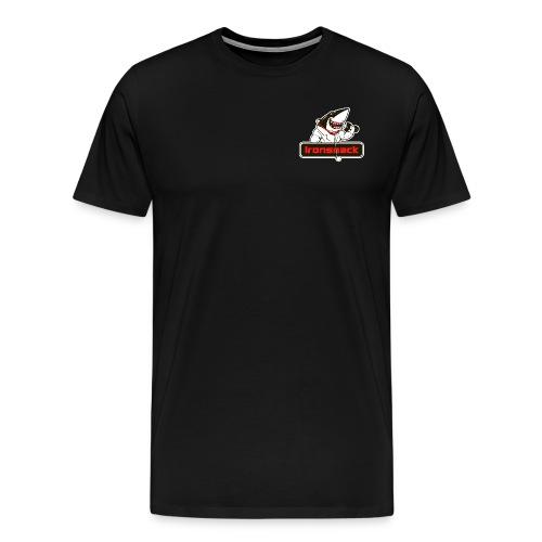 Ironsnack Crest Logo - Men's Premium T-Shirt