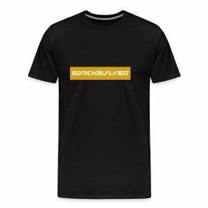 SonicHalfling0 Gold Supreme Style - Men's Premium T-Shirt