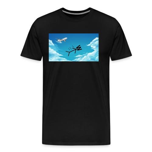 Skydiving W - Men's Premium T-Shirt