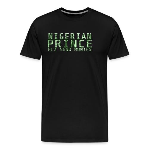 Nigerian Prince - Men's Premium T-Shirt