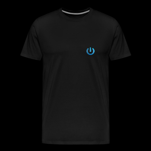 GAMingWITHty/ Never Turning Off - Men's Premium T-Shirt