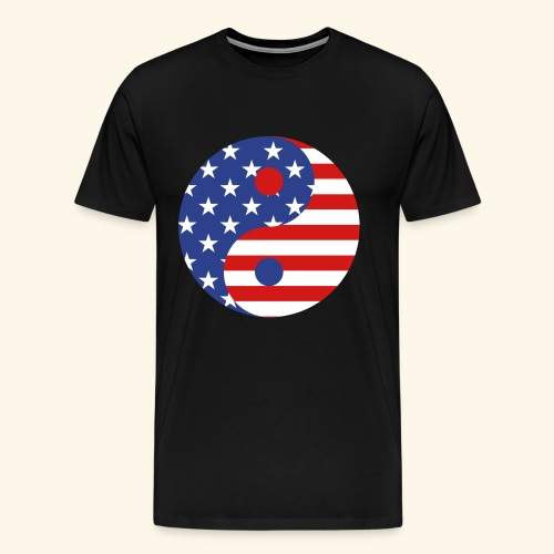 usa symbol - Men's Premium T-Shirt