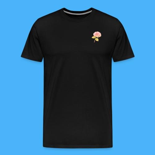 Pink Floral - Men's Premium T-Shirt