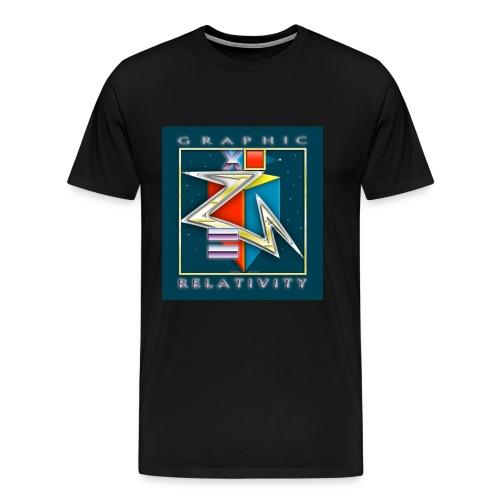 Graphic Relativity - Men's Premium T-Shirt