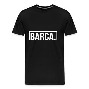 Goal Barca White - Men's Premium T-Shirt