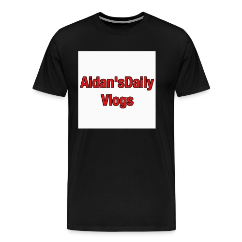 Aidan'sDailyVlogsTshirts - Men's Premium T-Shirt