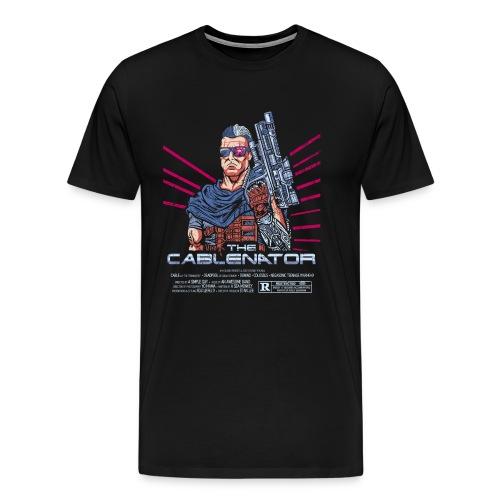 The Cablenator - Men's Premium T-Shirt