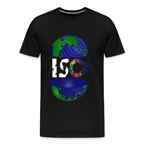 ISO WHITE - Men's Premium T-Shirt
