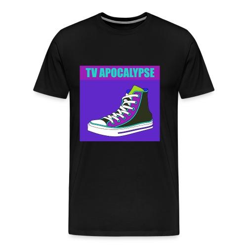 tvApocalypse Converse Shoe T-Shirt - Men's Premium T-Shirt