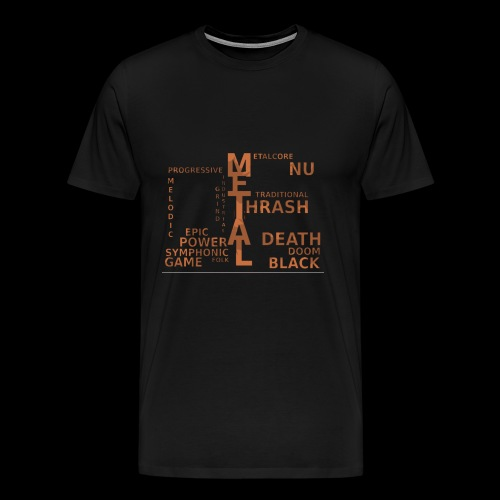 Subgenre Of Metal - Men's Premium T-Shirt