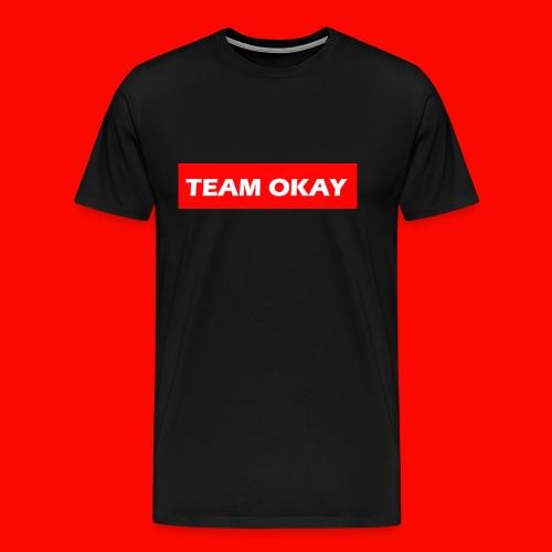 TEAM OKAY UNORIGINAL BOX LOGO - Men's Premium T-Shirt