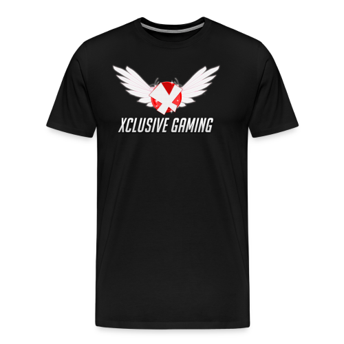 Xclusive gaming oversized logo - Men's Premium T-Shirt
