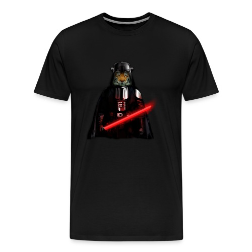 Power Tiger painting T-shirt - Men's Premium T-Shirt