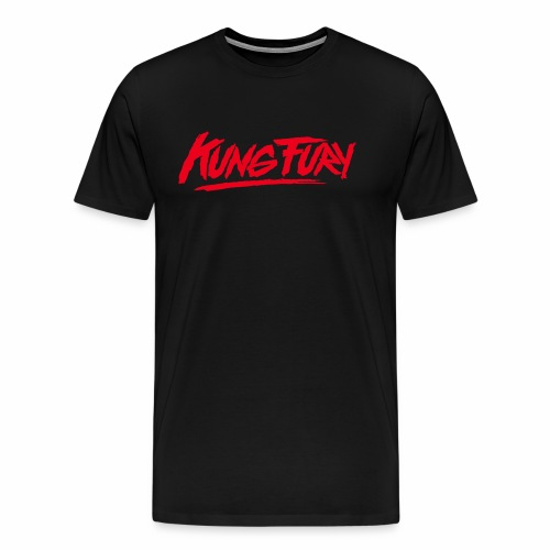 Kung Fu Martial Arts Funny - Men's Premium T-Shirt