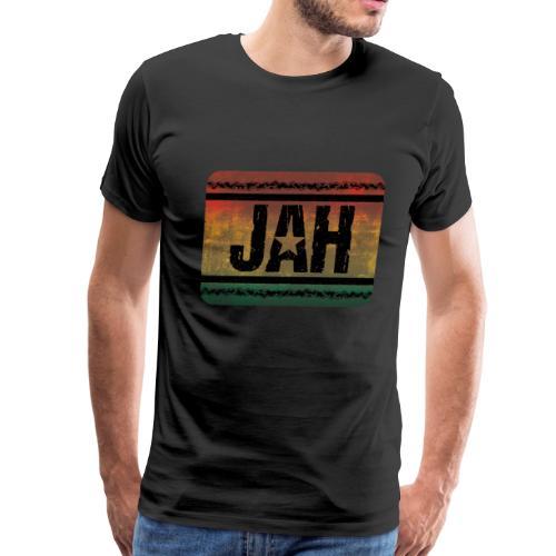 jah reggae - Men's Premium T-Shirt