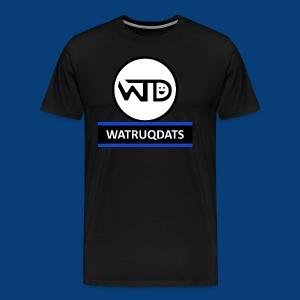 WaTruqDats Logo - Men's Premium T-Shirt
