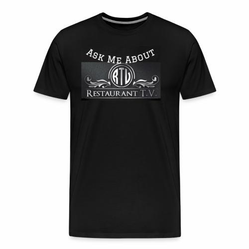 Restaurant T.V. - Men's Premium T-Shirt