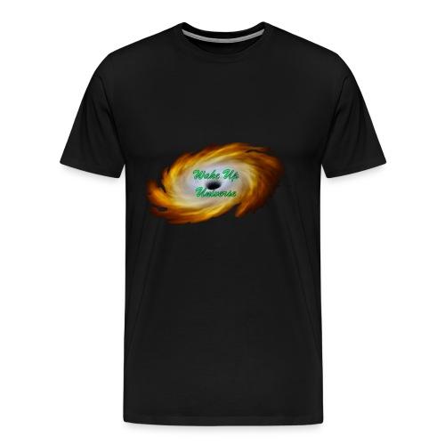 Wake Up Universe Basic Logo - Men's Premium T-Shirt