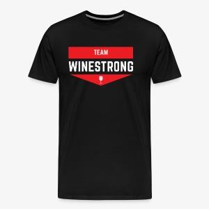 WineStrong Logo - Men's Premium T-Shirt
