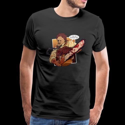 Chainsaw Gump - Men's Premium T-Shirt