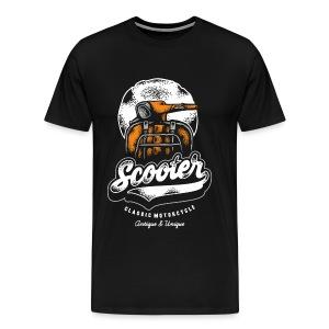 scooter - Men's Premium T-Shirt