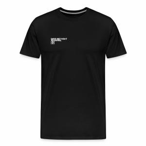 DAYS WITHOUT ALCOHOL (WHITE LOGO) - Men's Premium T-Shirt