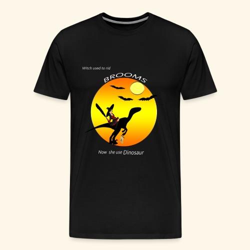 halloween dinosaur t-shirt - Men's Premium T-Shirt