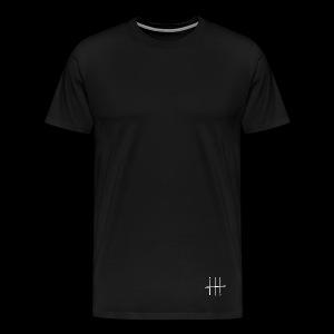 WHITE HEESH Symbol - Men's Premium T-Shirt