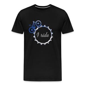 I ride - Men's Premium T-Shirt