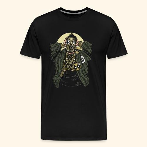 Gas mask Gangsta - Men's Premium T-Shirt