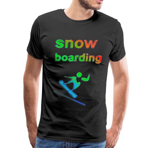 snowboarding Winter Games 2reborn - Men's Premium T-Shirt