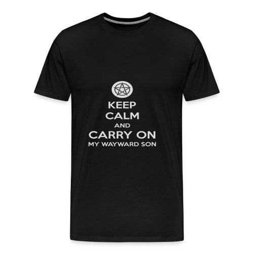 Keep Calm Shirt - Men's Premium T-Shirt