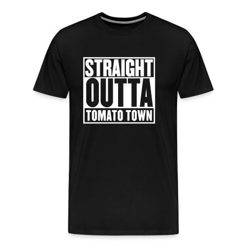 Straight Outta Tomato Town - Battle Royale - Men's Premium T-Shirt