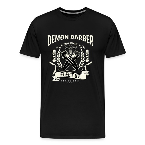 Demon Barber of Fleet Street - Men's Premium T-Shirt