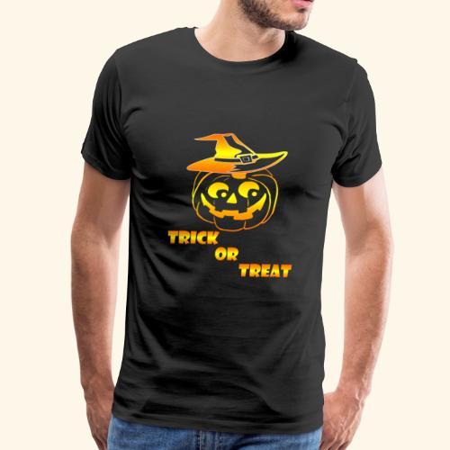 Halloween Trick or treat - Men's Premium T-Shirt