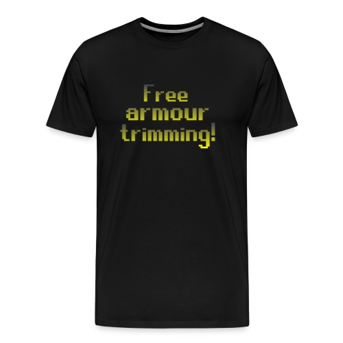 on top free armour - Men's Premium T-Shirt
