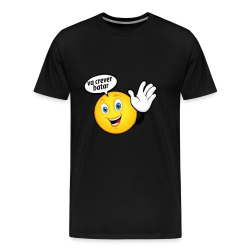 va crever batar - Men's Premium T-Shirt