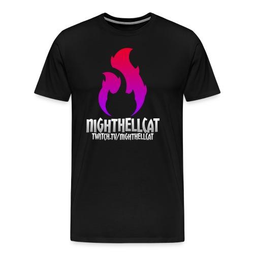 NightHellcat Twitch Logo - Men's Premium T-Shirt