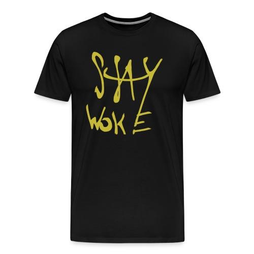 Stay Woke Hobag Knowledge. - Men's Premium T-Shirt