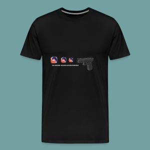 The thing goes skraaa - mans not hot meme tide pod - Men's Premium T-Shirt