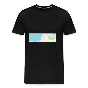 waze - Men's Premium T-Shirt
