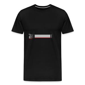 Red Stripe Down! #TTNM - Men's Premium T-Shirt