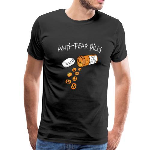Halloween Anti-Fear Pills t-shirt - Men's Premium T-Shirt