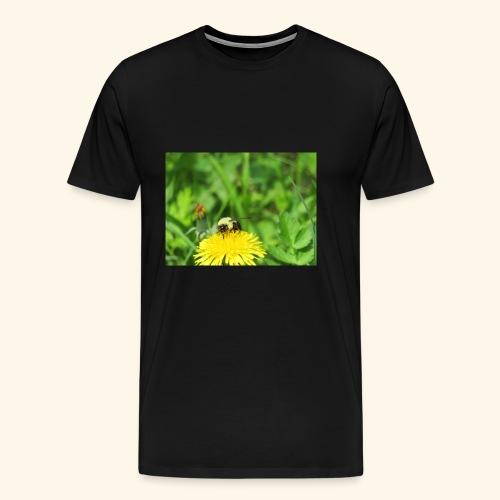 Dandelion Bee - Men's Premium T-Shirt