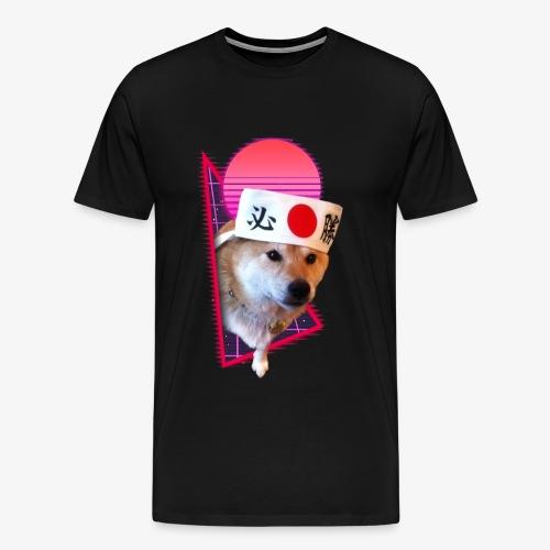 Retro Shiba - Men's Premium T-Shirt